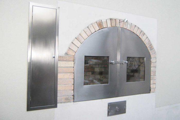 Inox vrata za peč