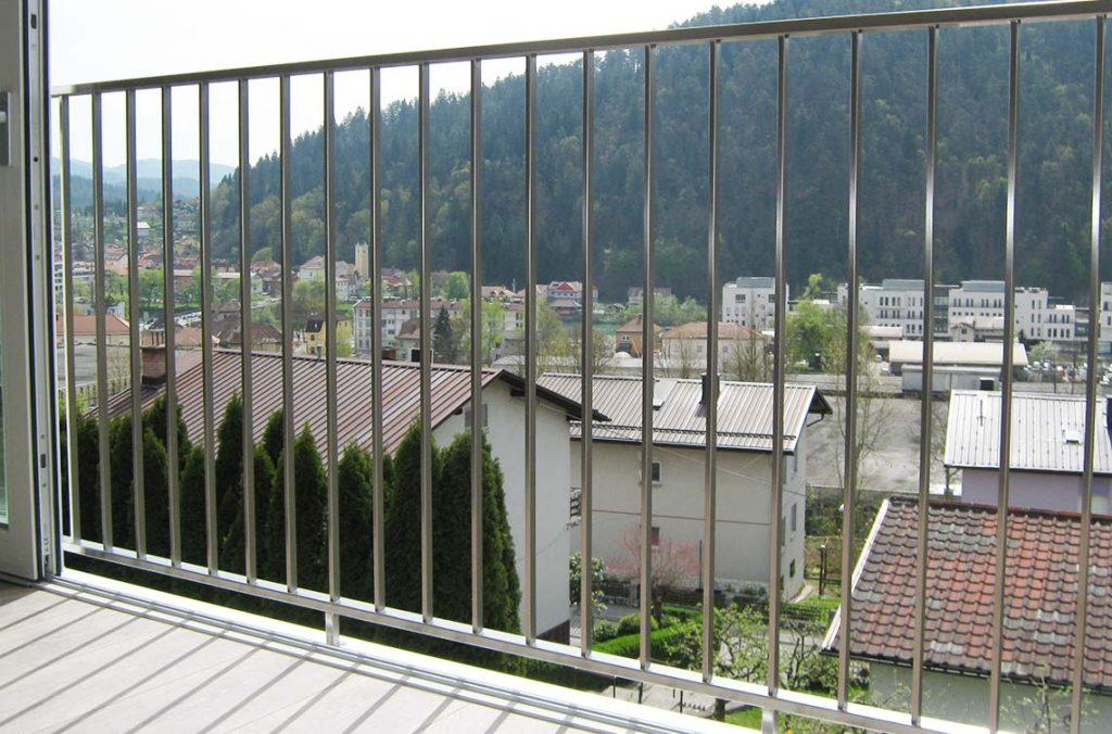 Inox ograja za balkon