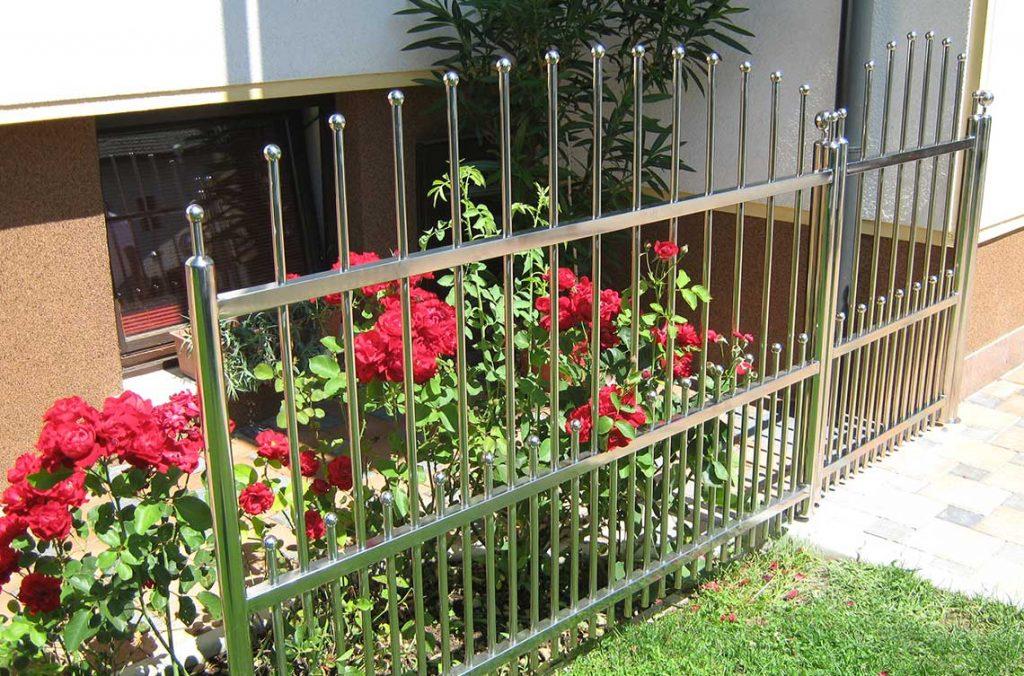 Inox ograja za vrt