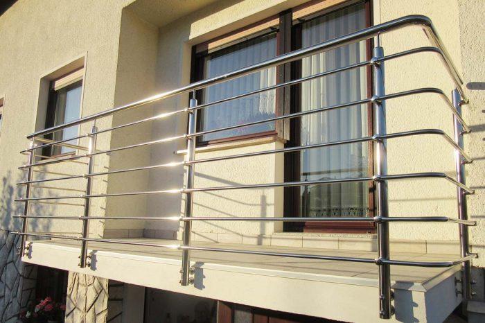 Balkonska ograja iz inox materiala