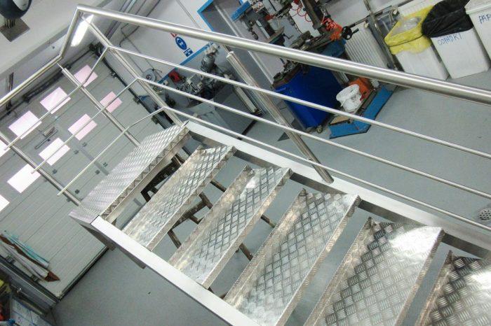 Inox stopnice