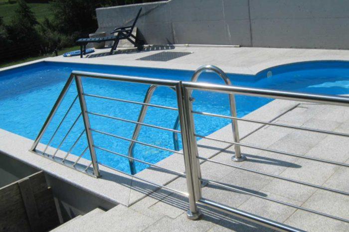 Inox ograja za bazen