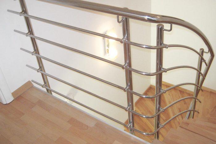 Inox ograja za stopnišče